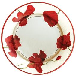 Entertaining with Caspari Dancing Poppies Paper Dinner Plate
