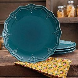 The Pioneer Woman Farmhouse Lace Dinner Plate Set