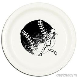 FASTPITCH SOFTBALL DINNER PLATES Party Supplies FREE SHIPPIN