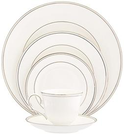 Lenox Federal Platinum Bone China 5-Piece Place Setting, Ser
