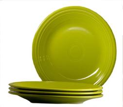 Fiesta 10-1/2-Inch Dinner Plate, Lemongrass, Set of 4