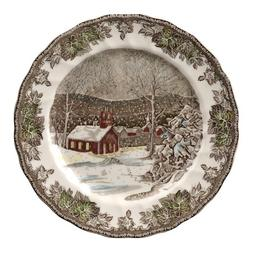 Johnson Brothers Friendly Village 10-Inch Dinner Plates, Set