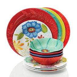 Studio California by Laurie Gates 12 Piece Flora Heavy Weigh