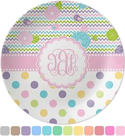 Girly Girl Melamine Plate