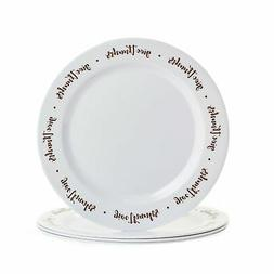 give thanks dinner plates with sentimental message