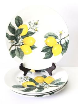 Royal Norfolk Greenbrier International Set 4 Tuscan Lemons S