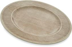 "Grove Melamine Dinner Plate, 11"", Adobe"