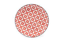 Tablescapes GT30233D4PK Cady 4 PK Dinner Plate, Red Apple