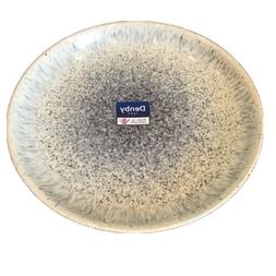 Denby USA Halo Coupe Dinner Plate, Speckle