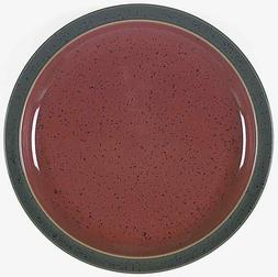 "Denby Langley HARLEQUIN 10 1/4"" Dinner Plate Red/Green Outer"