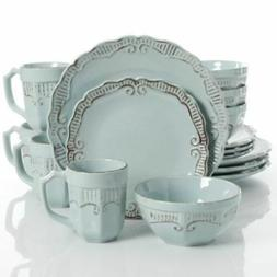Gibson Home Havenwood 16-Piece Dinnerware Set with Service f