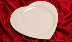 Heart Shaped Dinner Plates Platters  Syracuse China - Home R