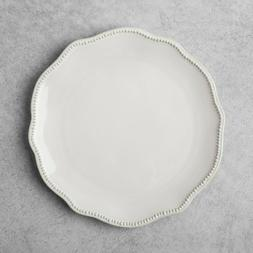 Hearth & Hand Magnolia Cream Stoneware Scallop Beaded Dinner