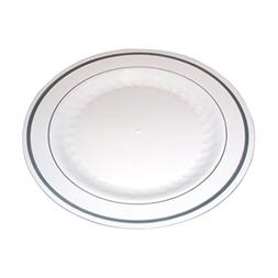 Masterpiece Premium Quality Heavyweight Plastic Plates: 25 D