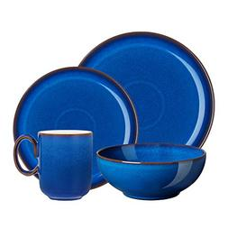 Denby 4 Piece Imperial Blue Kitchen Collection Set, Royal Bl