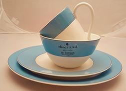 16-Piece Kate Spade Lenox Rutherford Circle Turquoise Blue P