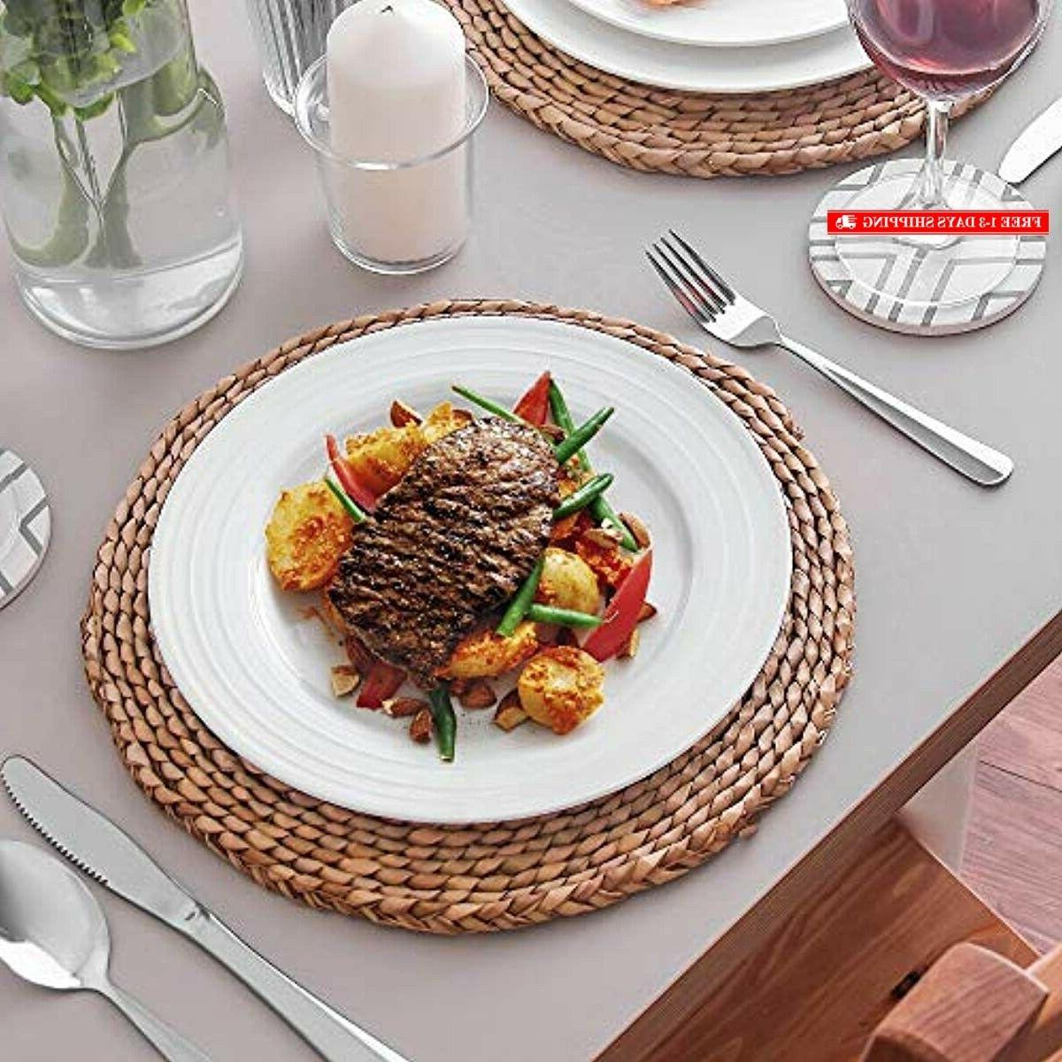 Lifver 10131 Dinner Plates/Serving Platters with E