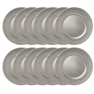 12pk Charger Plates