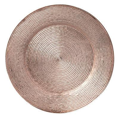 """12pk 13"""" Round Charger Chargers Serving Dinner Plates"""