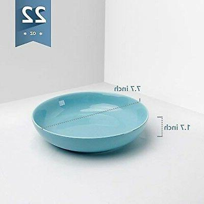 Sweese 1310 Porcelain Salad/Pasta Bowls - of 6, Assorted C...