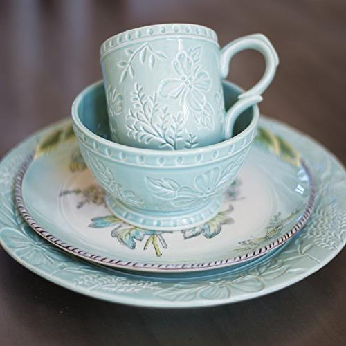 Fitz and Floyd 21-050 English plate Blue