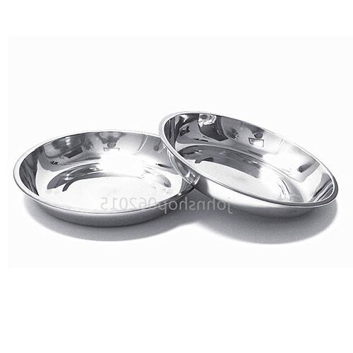 304 stainless steel dinner plate dish 22cm
