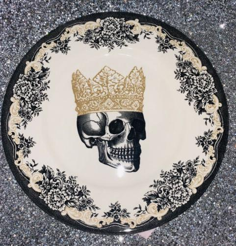ROYAL HALLOWEEN SKULL PLATES