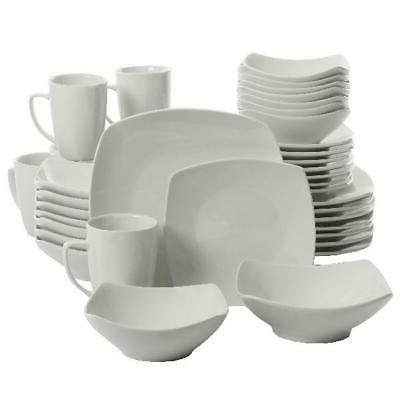 40-Piece Dinnerware Ceramic Dinner New