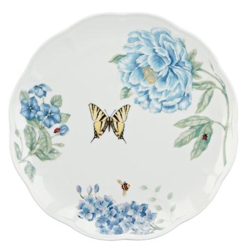 Lenox Butterfly Meadow Blue Dinner Plate