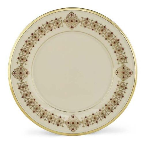 Lenox Eternal Gold Banded Ivory China 9-Inch Accent Plate