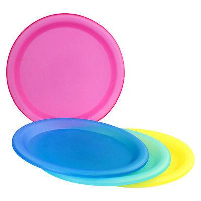 4 Pc Reusable Dinner Party - Fee Plastic Plates