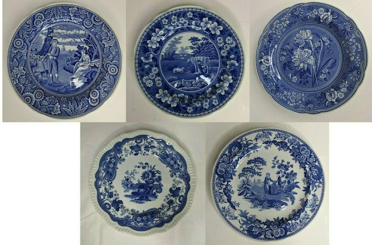 blue room collection 10 dinner plates made