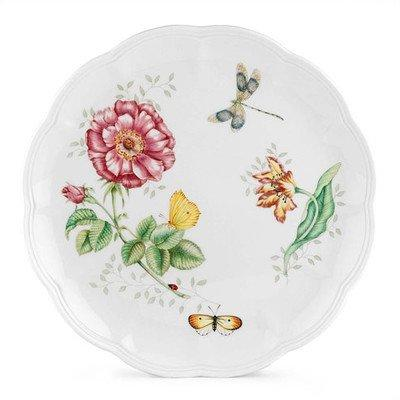 Butterfly Meadow Dragonfly Dinner Plate