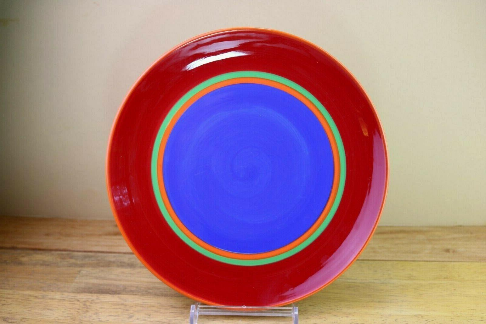 caribe cayman red dinner plate s