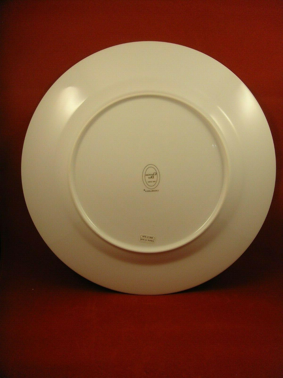 Christian Casablanca Dinner Plates New Wrappers