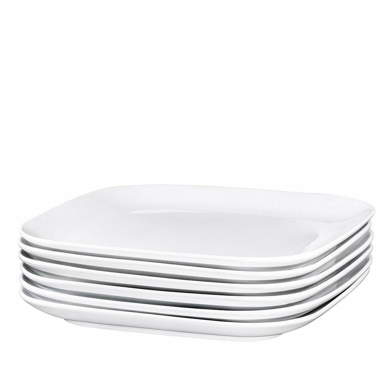 Bruntmor Plates Set Restaurant Dishes Inch