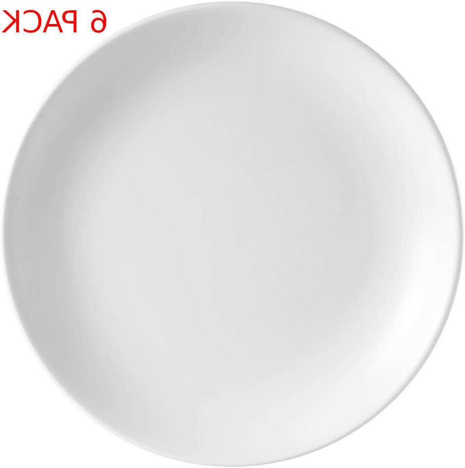 CAC China COP-21 Coupe 12-Inch Super White Porcelain Plate,