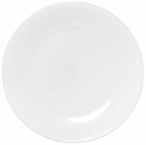 corelle winter frost 6 pack lunch plates white 85 216cm