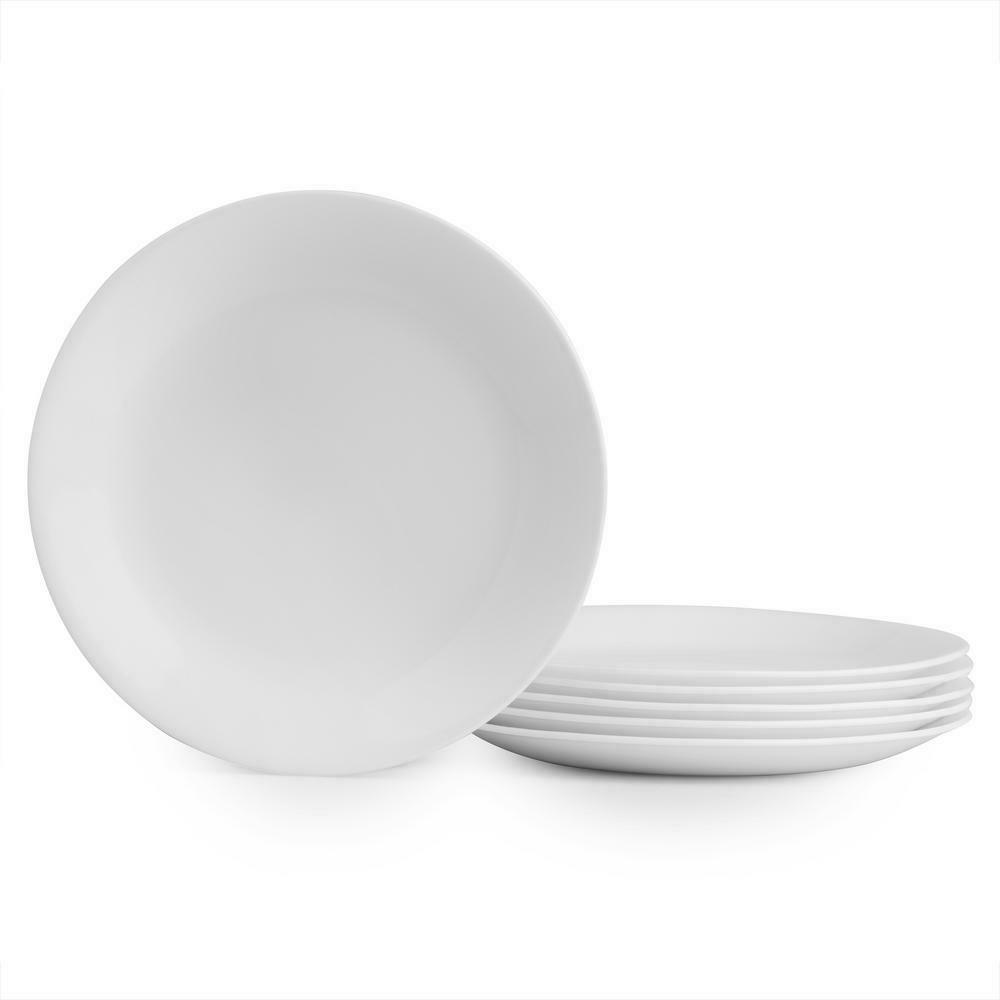 Corelle Winter Dinner Plates Count 1/2 Free Shipping