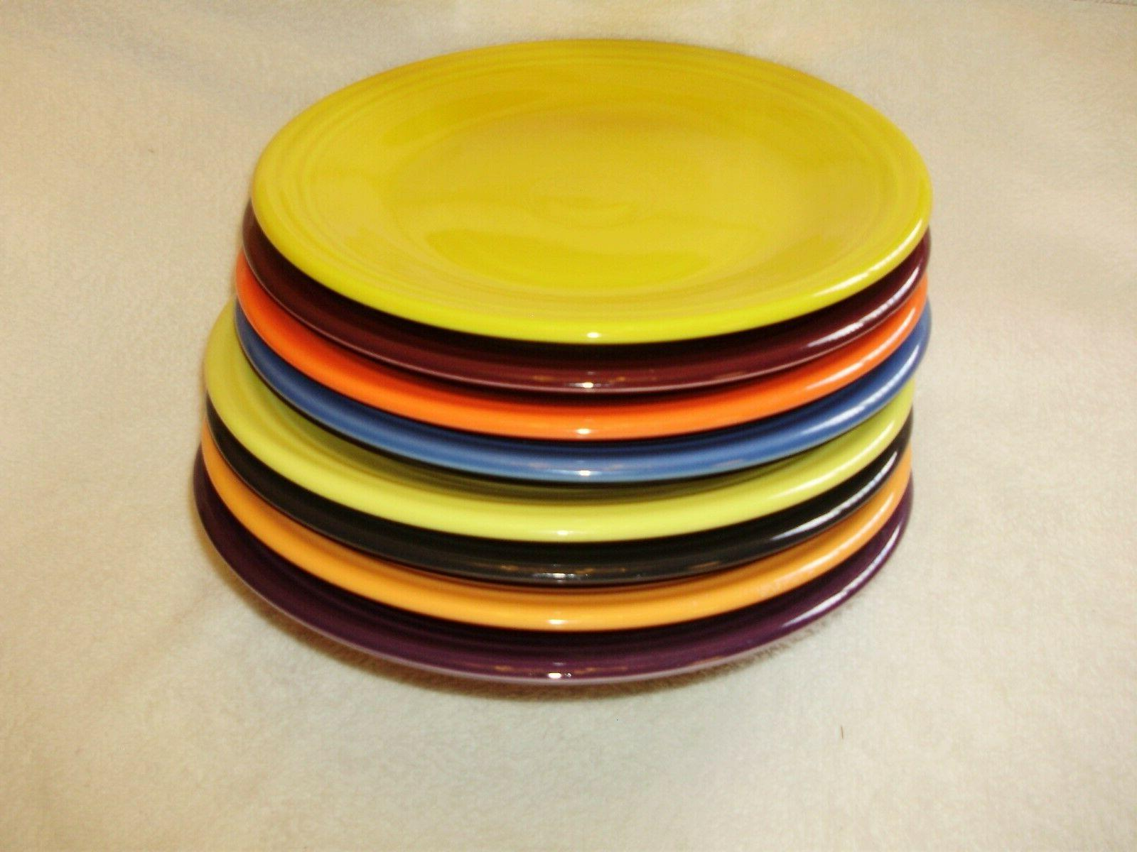 dinner plates mixed colors 8 10 5