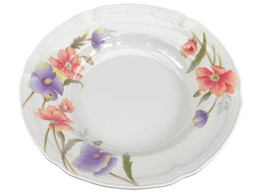 dinner serving round soup plate dish 9