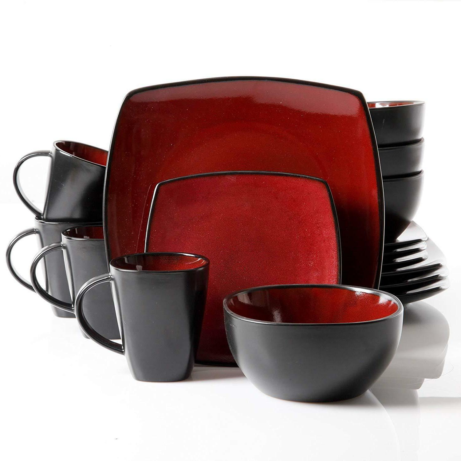 Dinnerware Set Plates Mugs For Home Kitchen Pieces