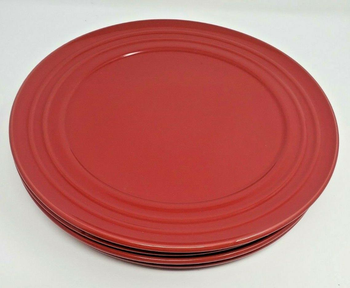 """Rachael Ray Double Red Rim Smooth 11"""" Lot of"""