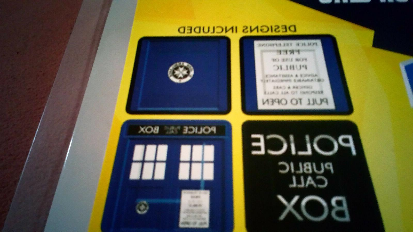 Dr. Who 4 Set of Plates Theme Party