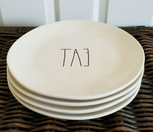 eat dinner plates set of 4 11