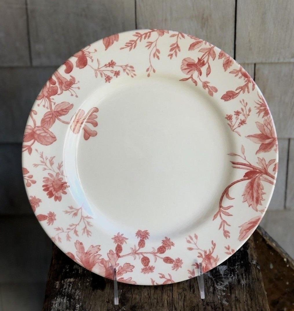 Royal Stafford Red Plates ~Set of New