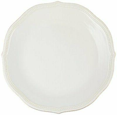 french perle bead dinner plate