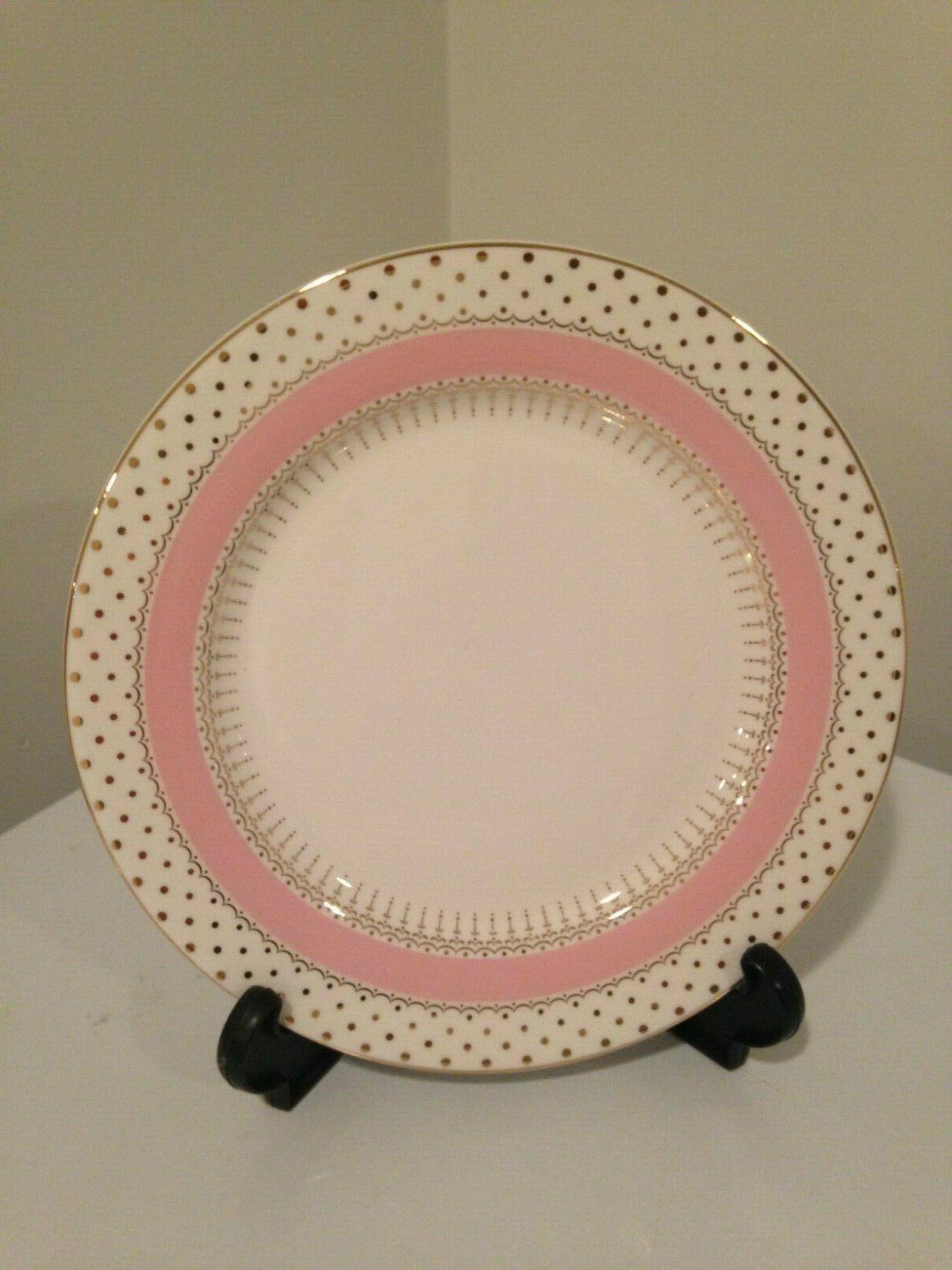 grace s teaware dinner plates pink gold