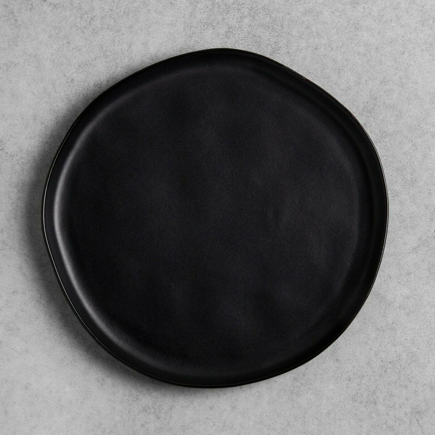 hearth and hand magnolia black matte stoneware