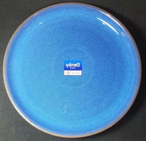 Denby Imperial Blue Dinner Plates Fast Ship
